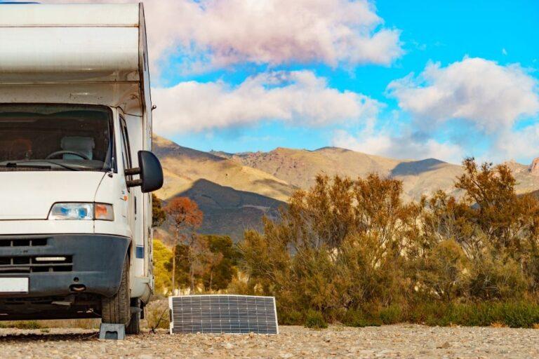 Placas solares para auto caravana.