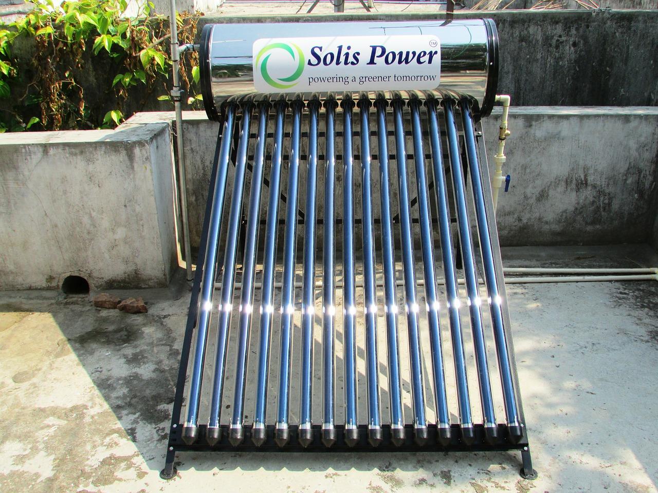 calentadores solares en España