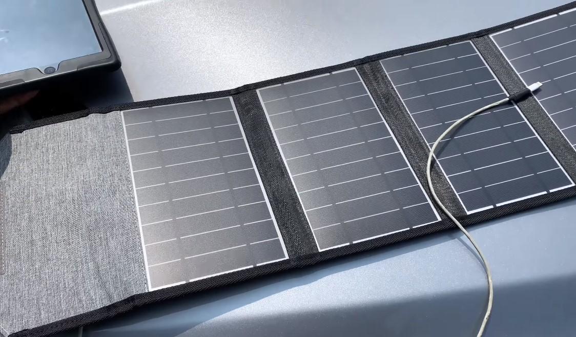 panel solar portatil choetech